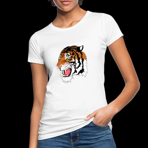 Sumatra Tiger - Frauen Bio-T-Shirt