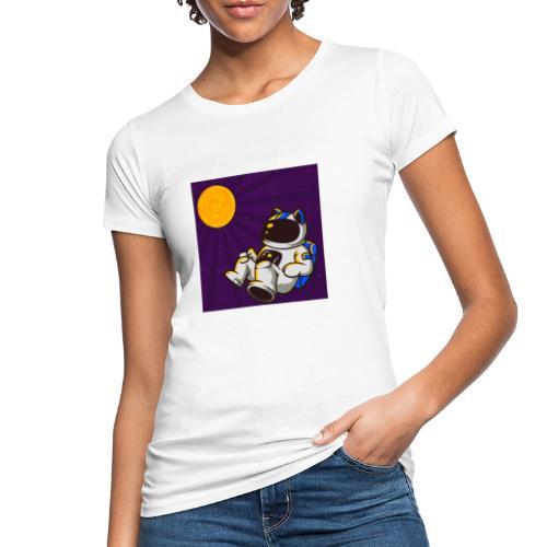 CryptoMiau - Camiseta ecológica mujer