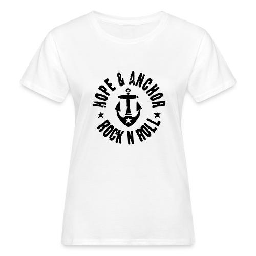 Hope & Anchor - Rock´n´Roll - Frauen Bio-T-Shirt