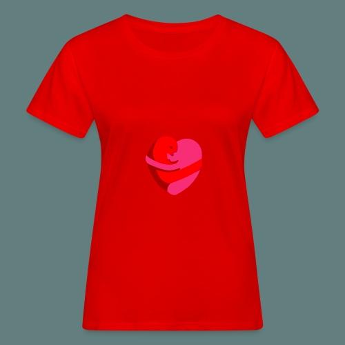 hearts hug - T-shirt ecologica da donna
