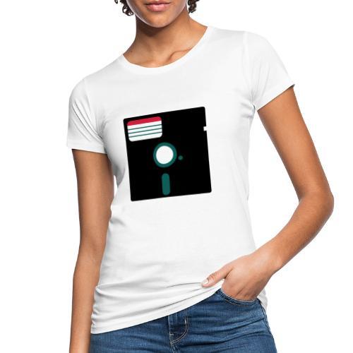 5 1/4 inch floppy disk - Naisten luonnonmukainen t-paita