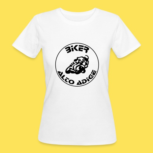 BikerAltoAdige circle logo Jacket - T-shirt ecologica da donna