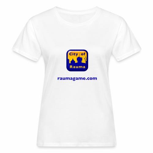 Raumagame logo - Naisten luonnonmukainen t-paita