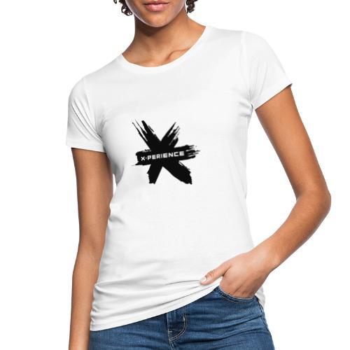 x-perience - Das neue Logo - Frauen Bio-T-Shirt