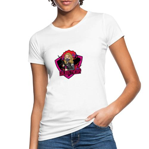 girlbongtheory - T-shirt ecologica da donna