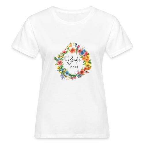 Team Bride Flower BRIDESMAID n°3 - Frauen Bio-T-Shirt