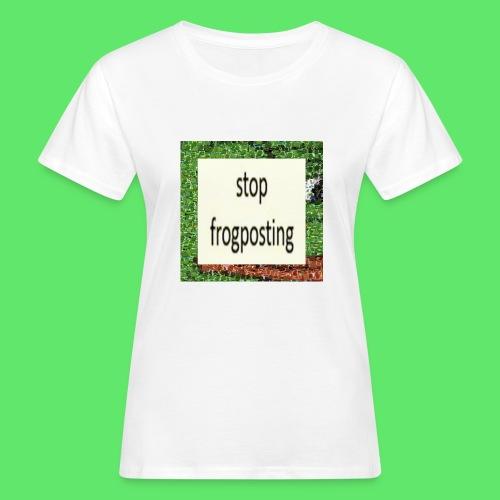 Frogposter - Women's Organic T-Shirt