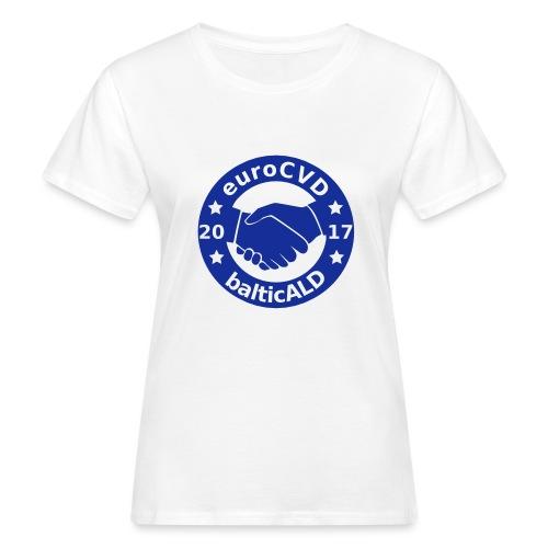 Joint EuroCVD-BalticALD conference womens t-shirt - Women's Organic T-Shirt