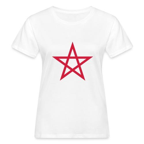 Pentagramme Wicca - T-shirt bio Femme