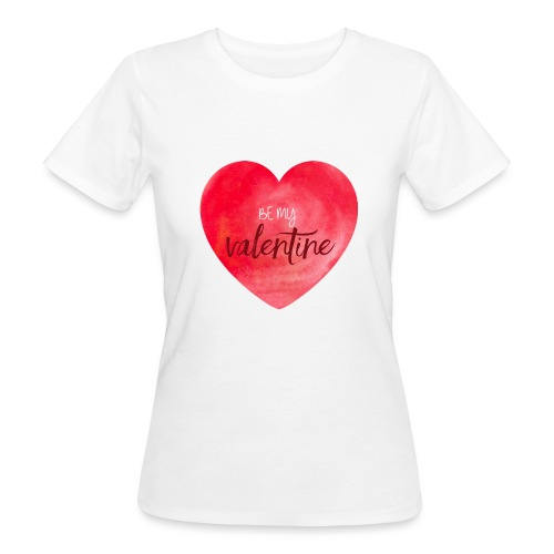 Cœur st.valentin - T-shirt bio Femme