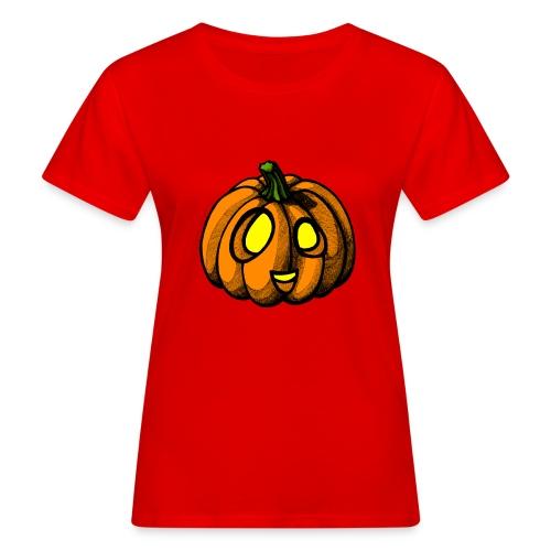 Pumpkin Halloween scribblesirii - Naisten luonnonmukainen t-paita
