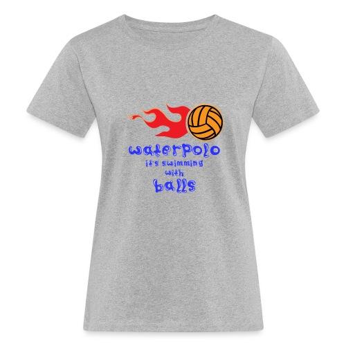 Waterpolo - T-shirt ecologica da donna