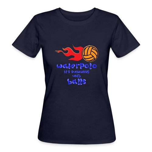 Waterpolo - T-shirt ecologica da donna