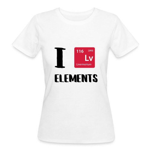 I love Elements - Frauen Bio-T-Shirt