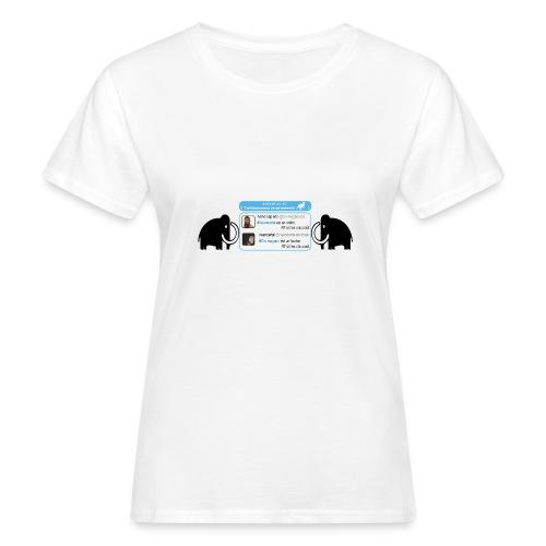 homo-sapiens et néandertal - T-shirt bio Femme