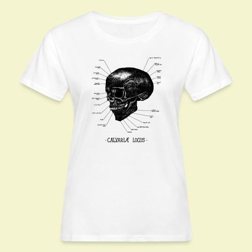 Calvatiae Locus - Black - T-shirt ecologica da donna