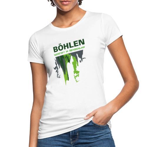 Die Weltstadt Böhlen - Frauen Bio-T-Shirt