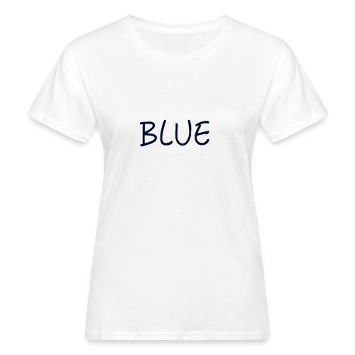 BLUE - Vrouwen Bio-T-shirt