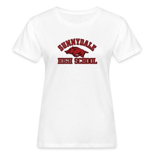 Sunnydale High School logo merch - Vrouwen Bio-T-shirt