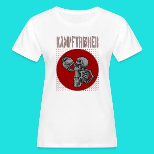Kampftrinker - Frauen Bio-T-Shirt