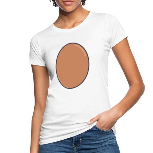 LIFE IS EGGCELLENT - Ekologisk T-shirt dam
