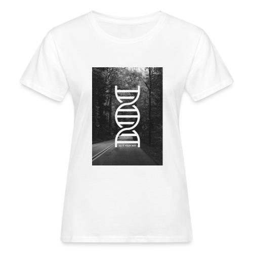 Fotoprint DNA Straße - Frauen Bio-T-Shirt