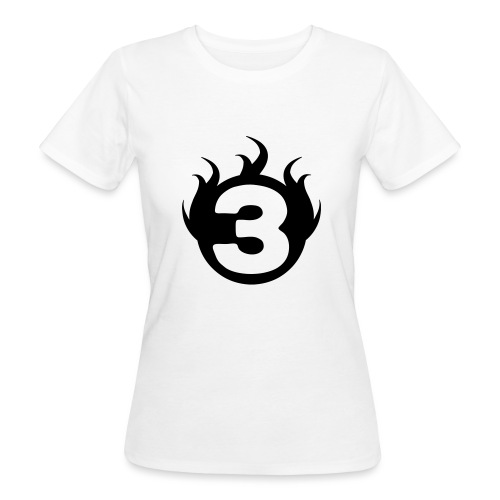 shoulder logoc - T-shirt bio Femme