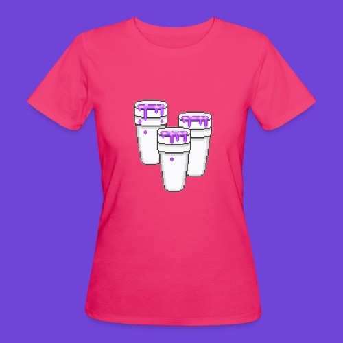Purple - T-shirt ecologica da donna