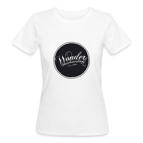 Wonder T-shirt - oldschool logo - Organic damer