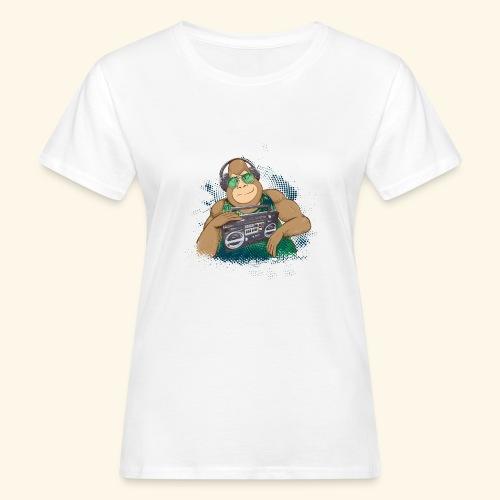 Gorilla Jungle Hiphop - Camiseta ecológica mujer