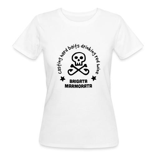 Brigata Marmorata - T-shirt ecologica da donna