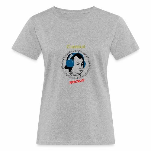 Classical Rocks! - Women's Organic T-Shirt