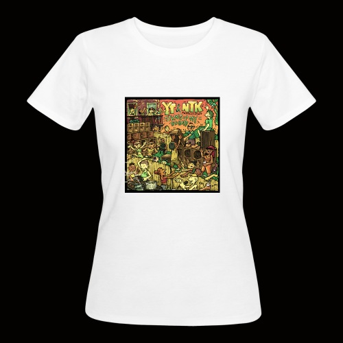 String Up My Sound Artwork - Women's Organic T-Shirt