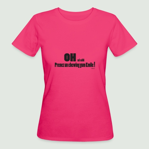 chewing gum Emile - T-shirt bio Femme