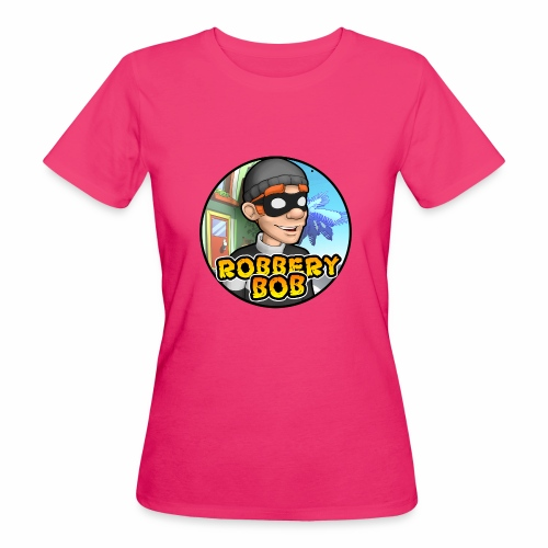Robbery Bob Button - Women's Organic T-Shirt