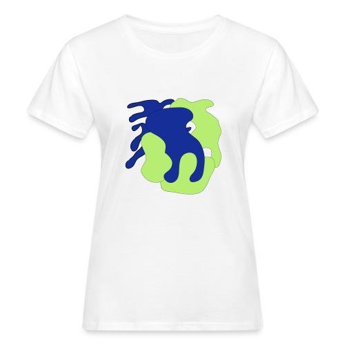 Macchie_di_colore-ai - T-shirt ecologica da donna