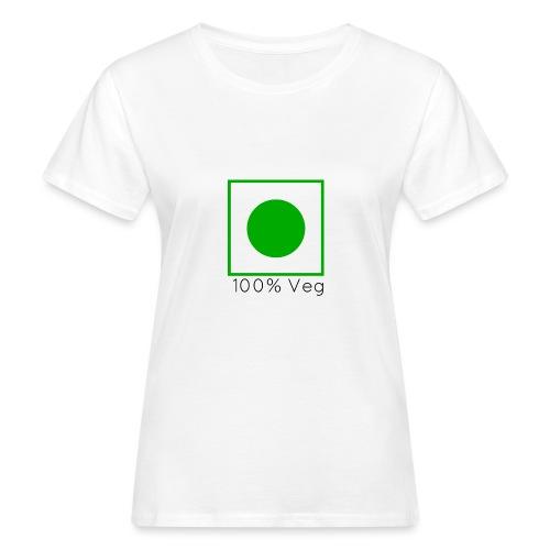 100veg-png - Ekologisk T-shirt dam