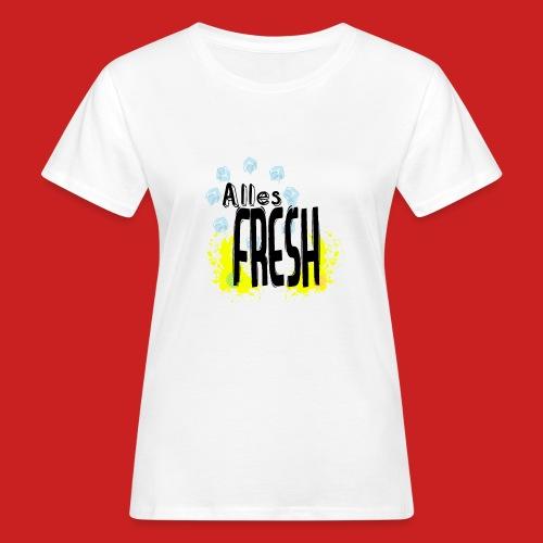 Alles Fresh / Frisch Sommer Eis - Frauen Bio-T-Shirt
