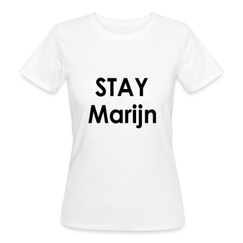 stay marijn black - Vrouwen Bio-T-shirt