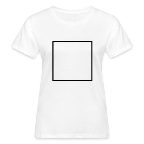 Square t shirt black - Vrouwen Bio-T-shirt