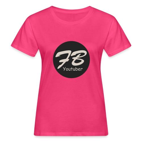 TSHIRT-YOUTUBER - Vrouwen Bio-T-shirt