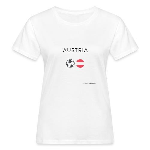 Austria Fußball - Frauen Bio-T-Shirt