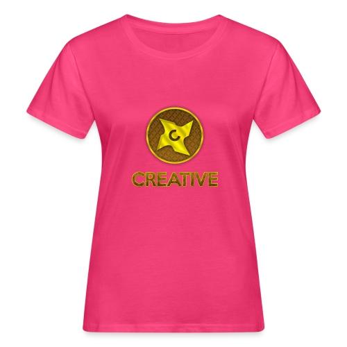 Creative logo shirt - Organic damer