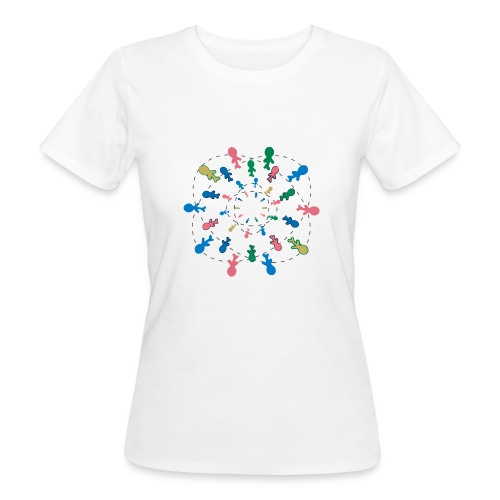 People of the word ( Type 1) - T-shirt ecologica da donna
