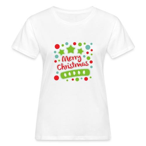 Merry Christmas - Women's Organic T-Shirt