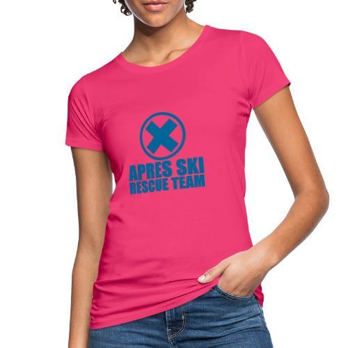 apres-ski rescue team - Vrouwen Bio-T-shirt