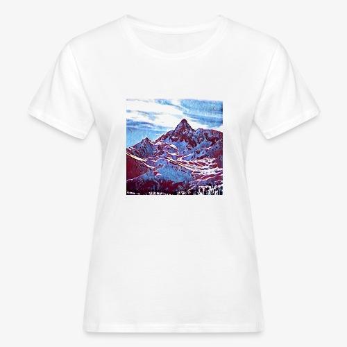 Red Mountain - T-shirt ecologica da donna
