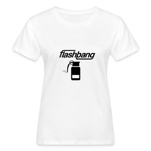 FlashBang Logga - 100kr Donation - Ekologisk T-shirt dam