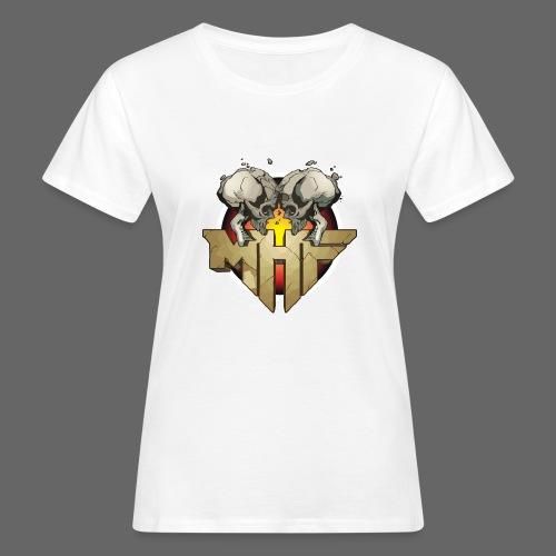 new mhf logo - Women's Organic T-Shirt