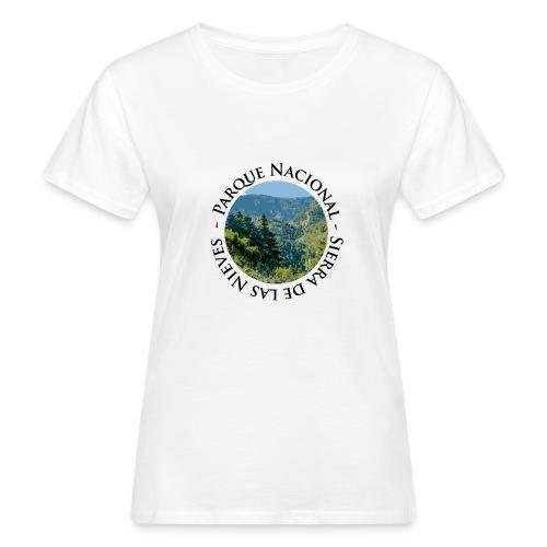 Parque Nacional Sierra de las Nieves - Camiseta ecológica mujer